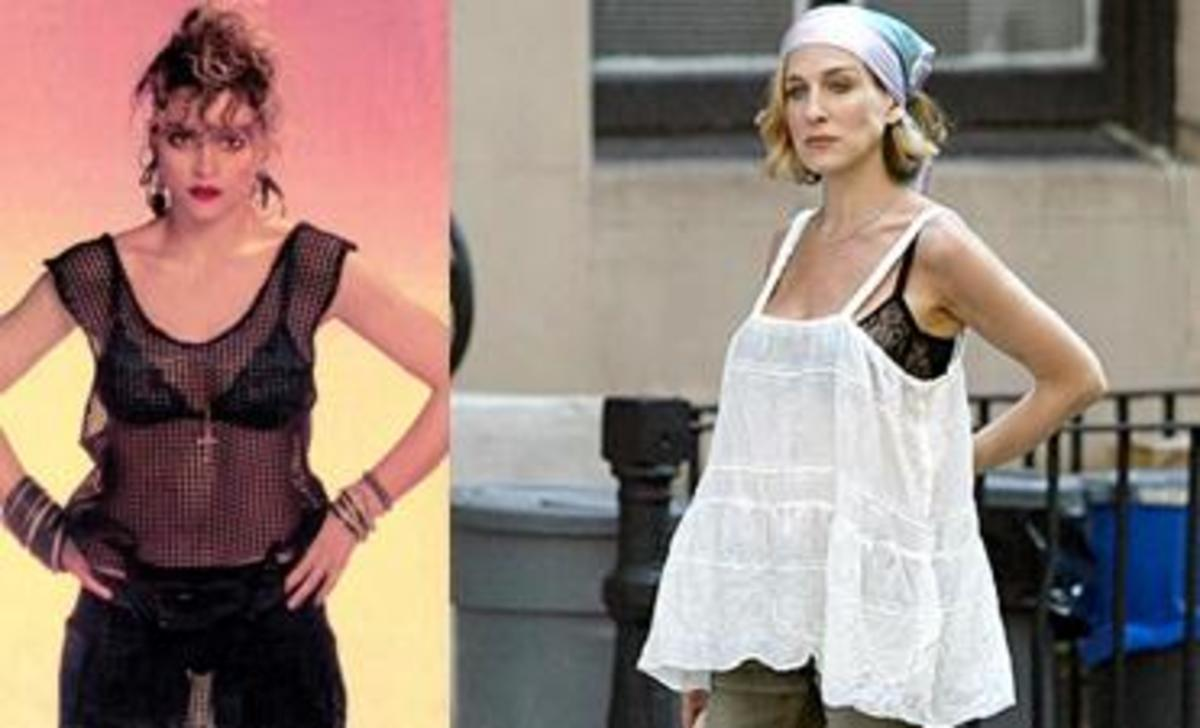 madonna-and-sarah-jessica-parker-visible-bra-look-trend