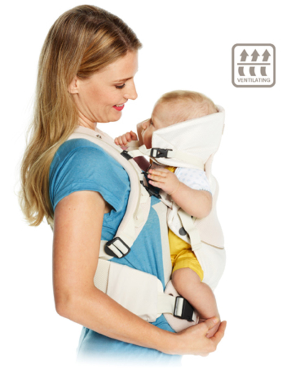 The breathable  3 in 1 baby carrier