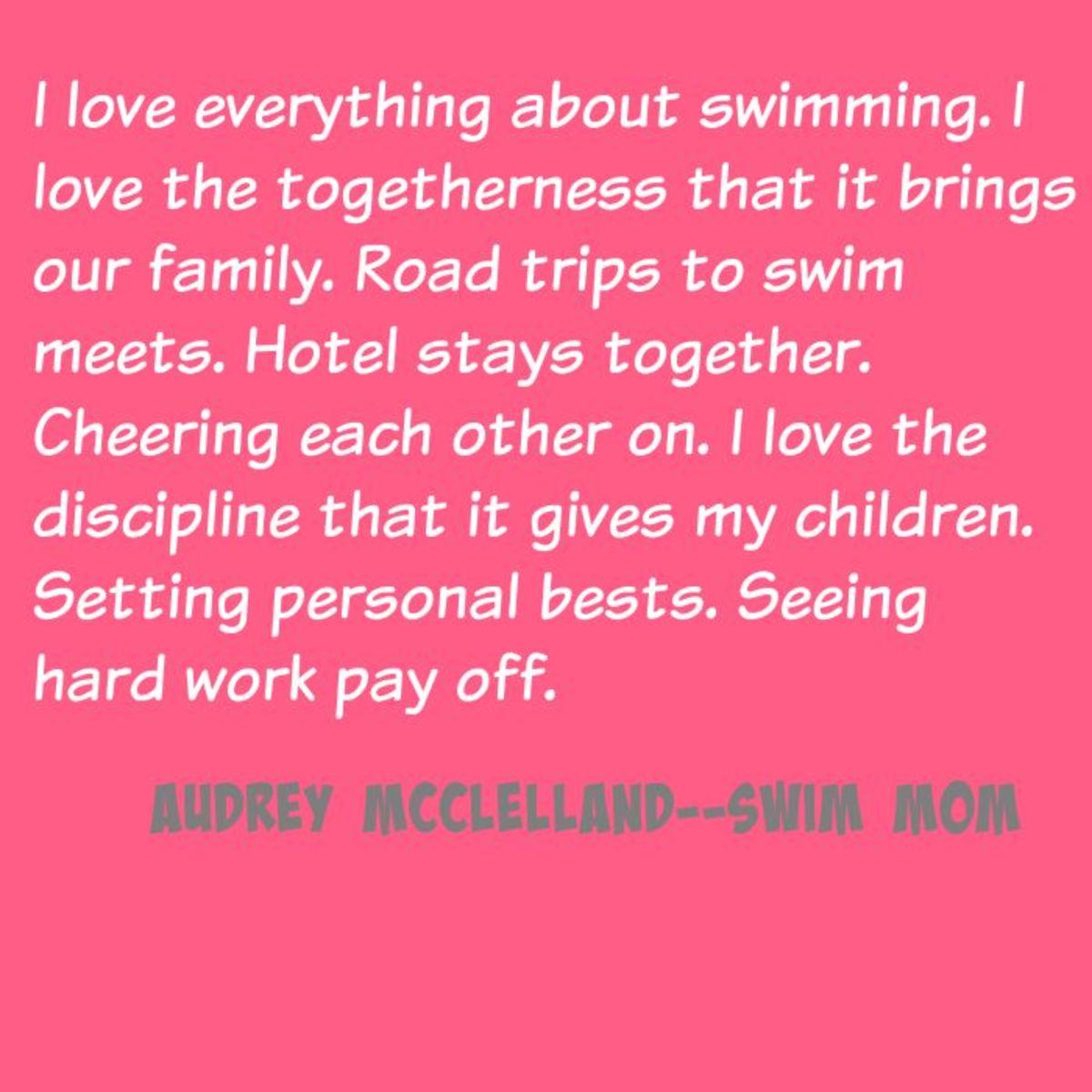 audrey mcclelland swim mom