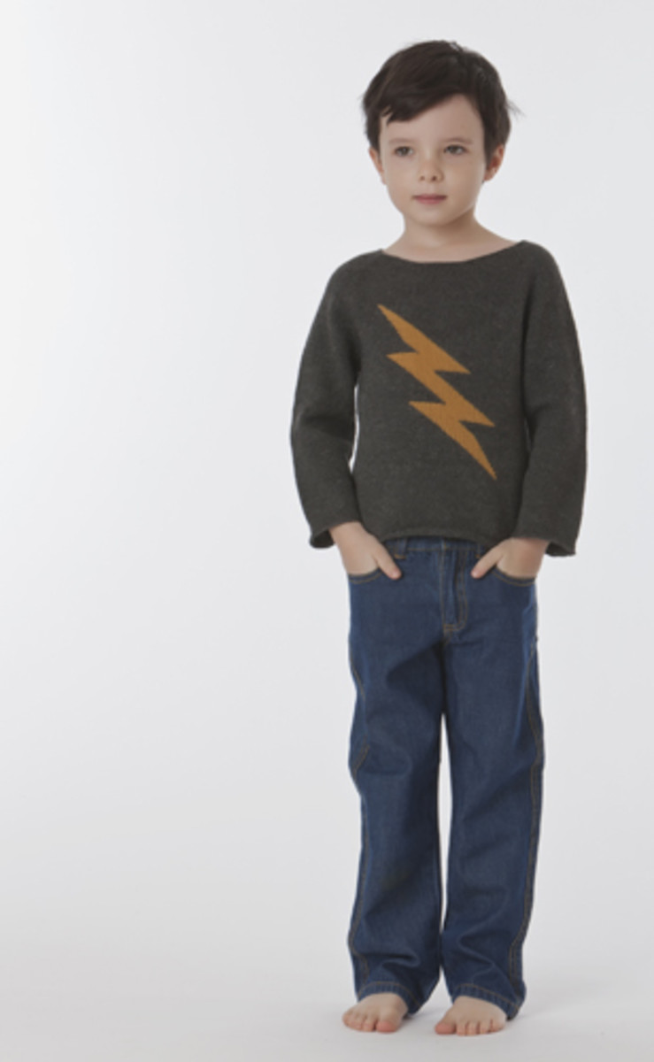 oeuf lightning bold sweater