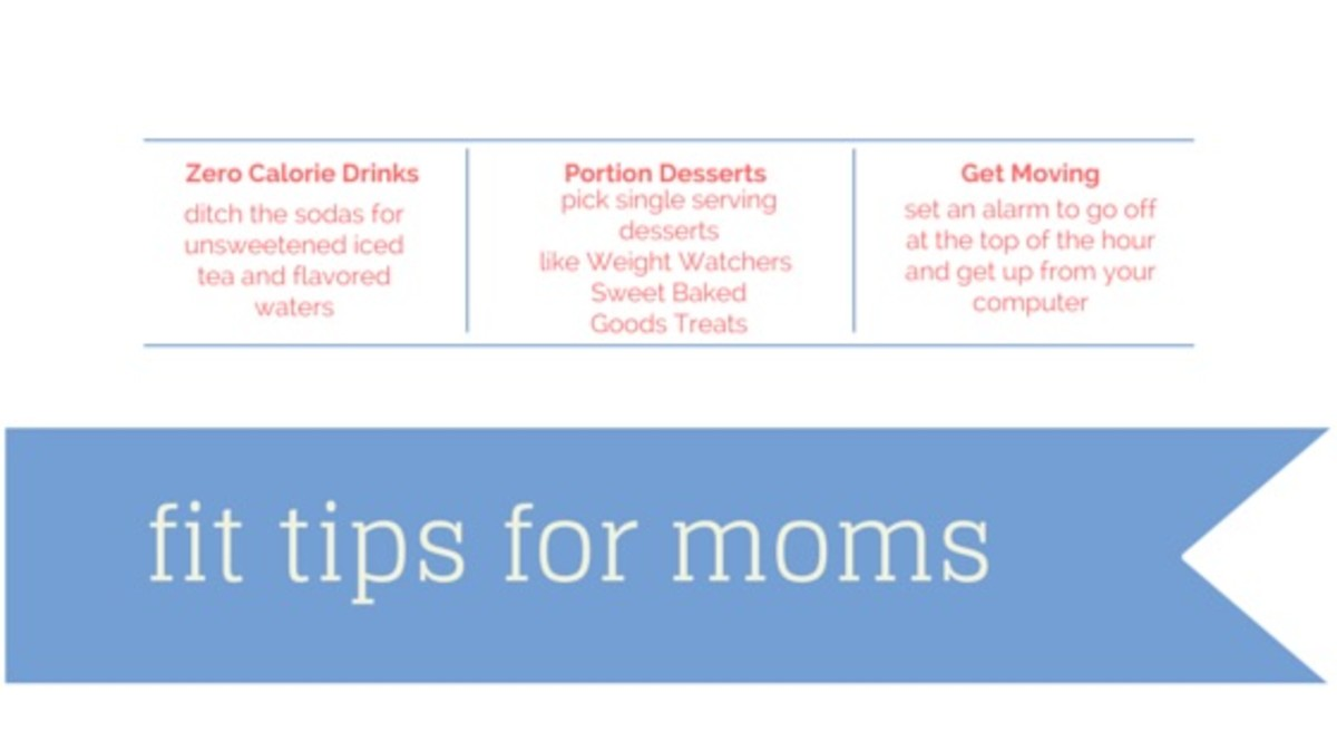 fit tips for moms