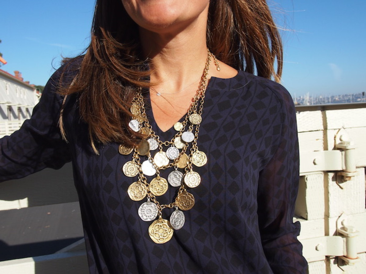cabi coin necklace