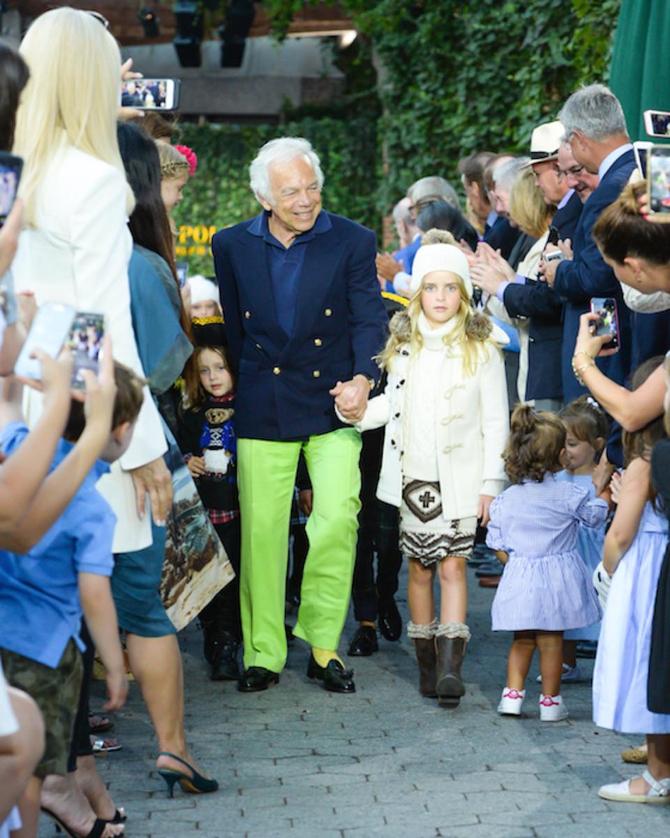 POLO RALPH LAUREN Children's Fashion Show