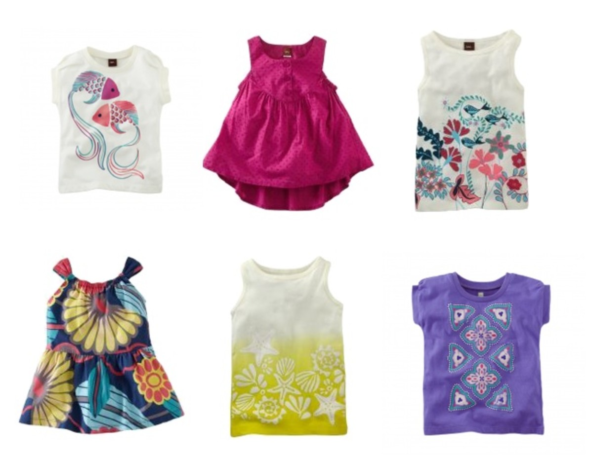 Tea Collection Girls Tees
