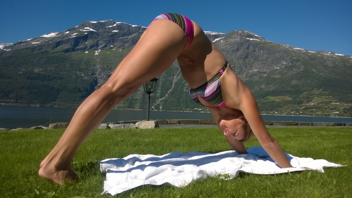 yoga in the fjords