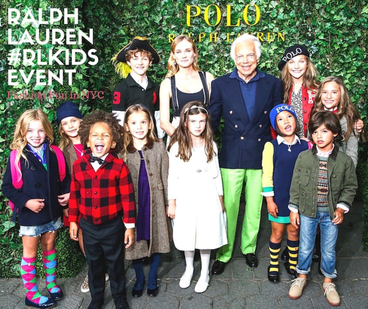 Ralph Lauren Children's Fashion Show