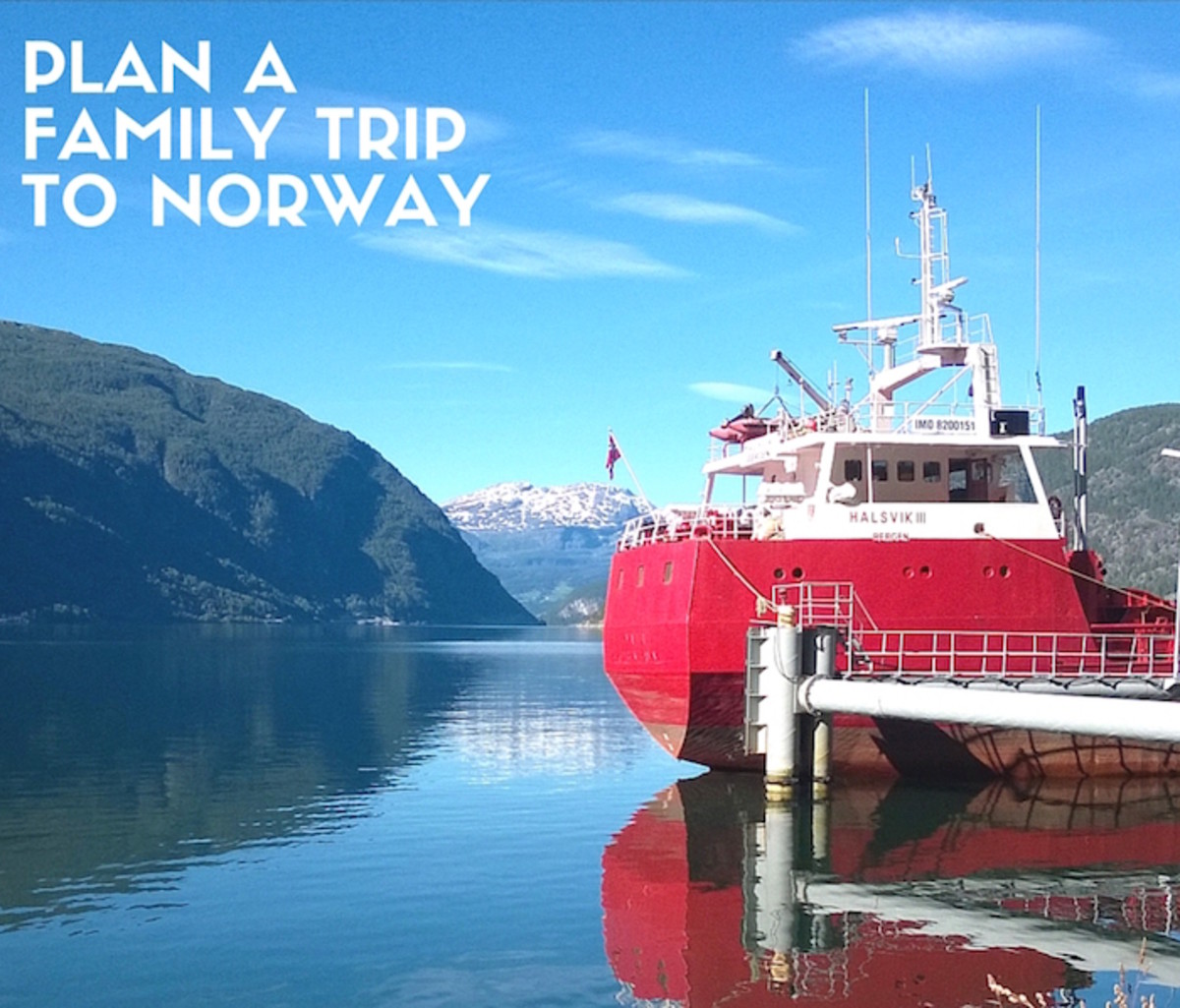 plan a family trip to norway