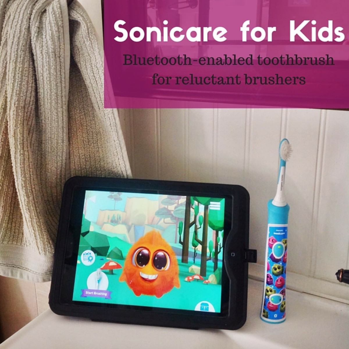 Sonicare Bluetooth-Enabled Toothbrush for Kids