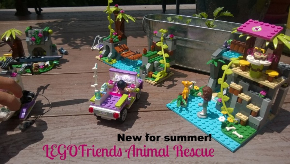 LEGOfriends animal rescue, jungle rescue lego