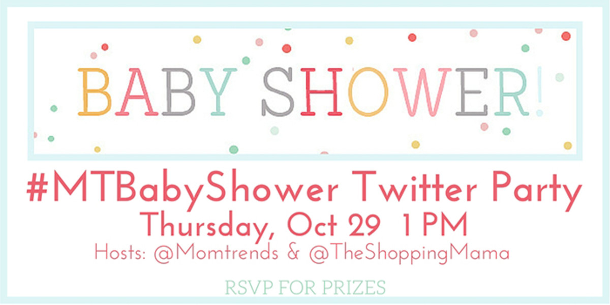 baby shower twitter party