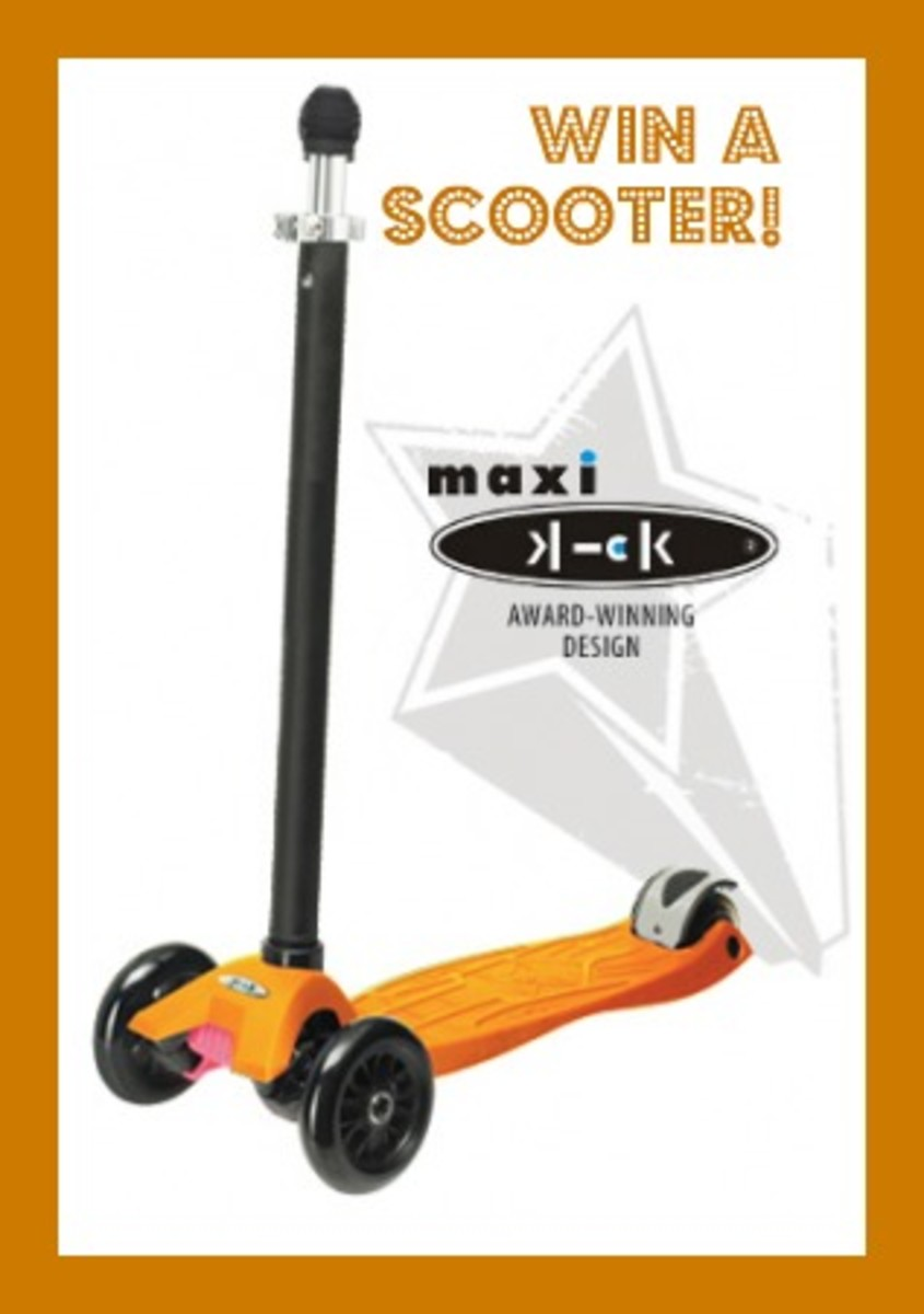 MAXI-scooter