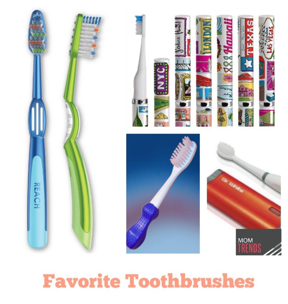 Favorite Toothbrushes