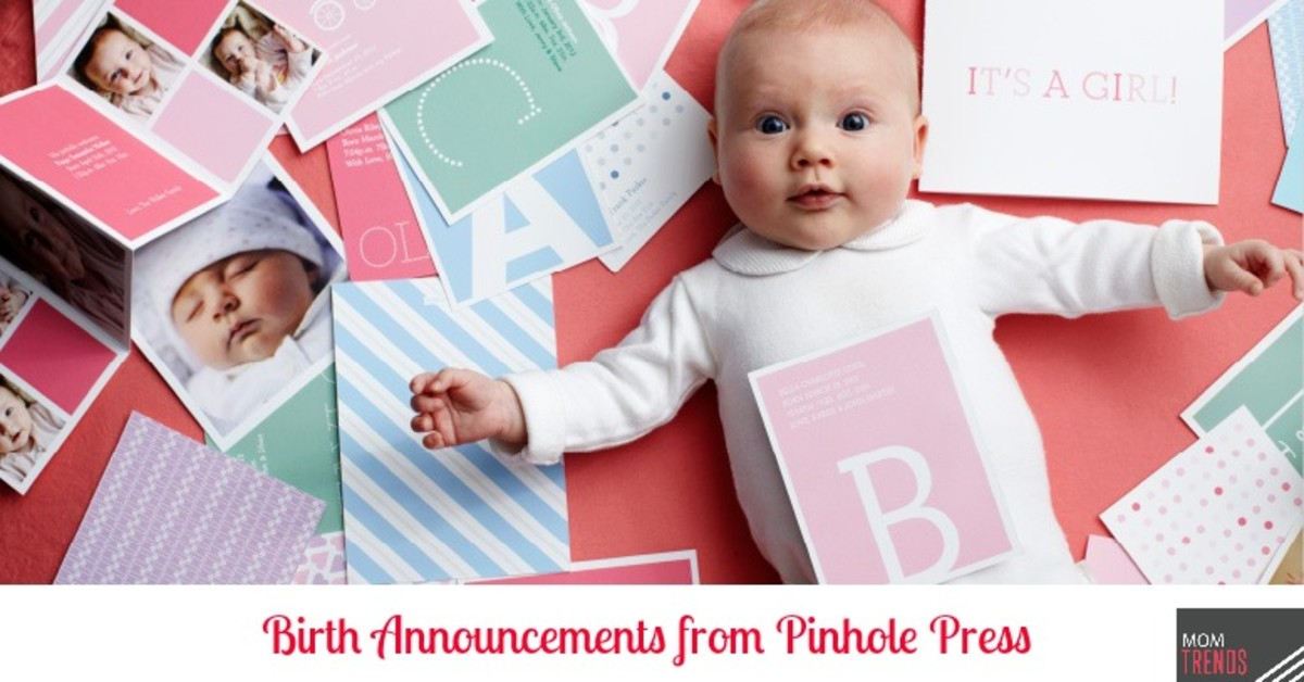 Birth Announcements from Pinhole Press