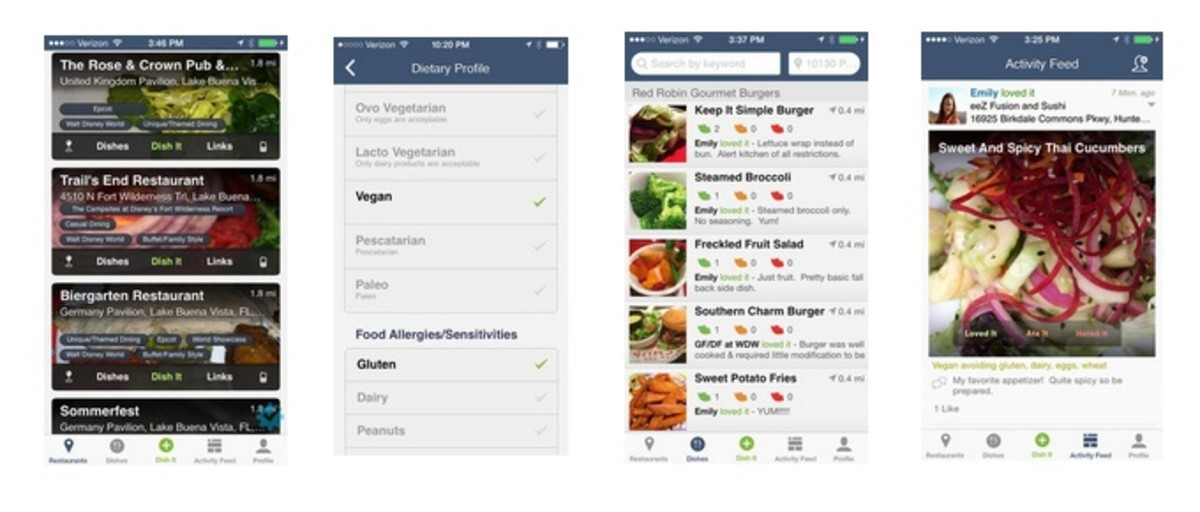 4 apps for dealing with food allergies momtrends family that deal with food allergies rely on each other if you want to know the best gluten free dish at your favorite restaurant or which diner wont mind forumfinder Image collections