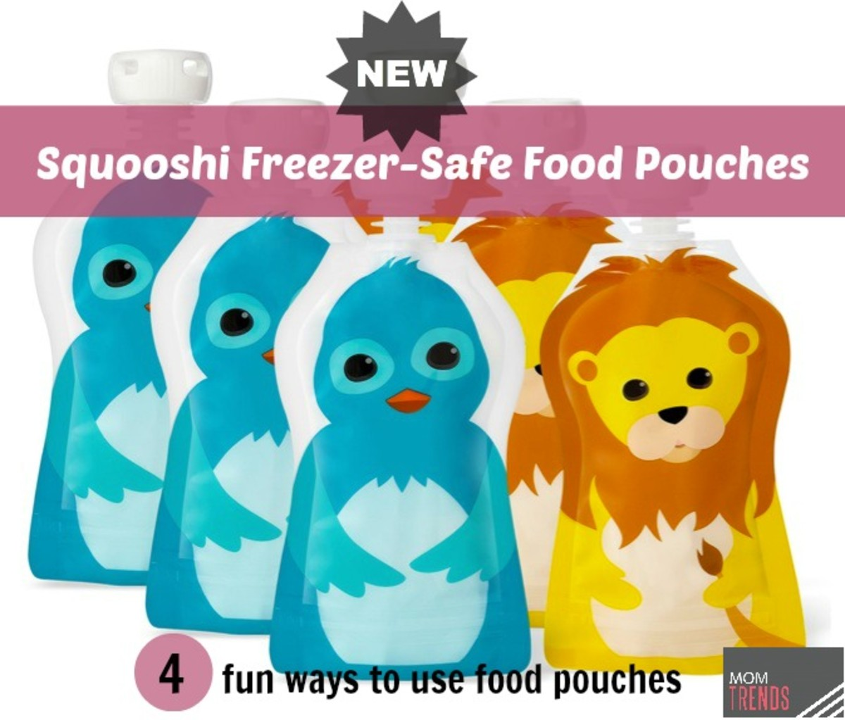4 Fun Ways to Use Food Pouches