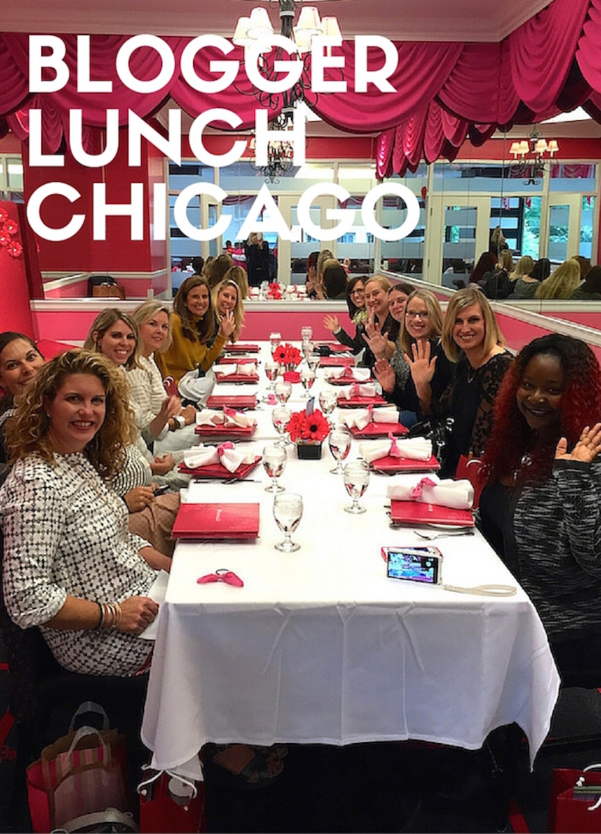 blogger lunch chicago