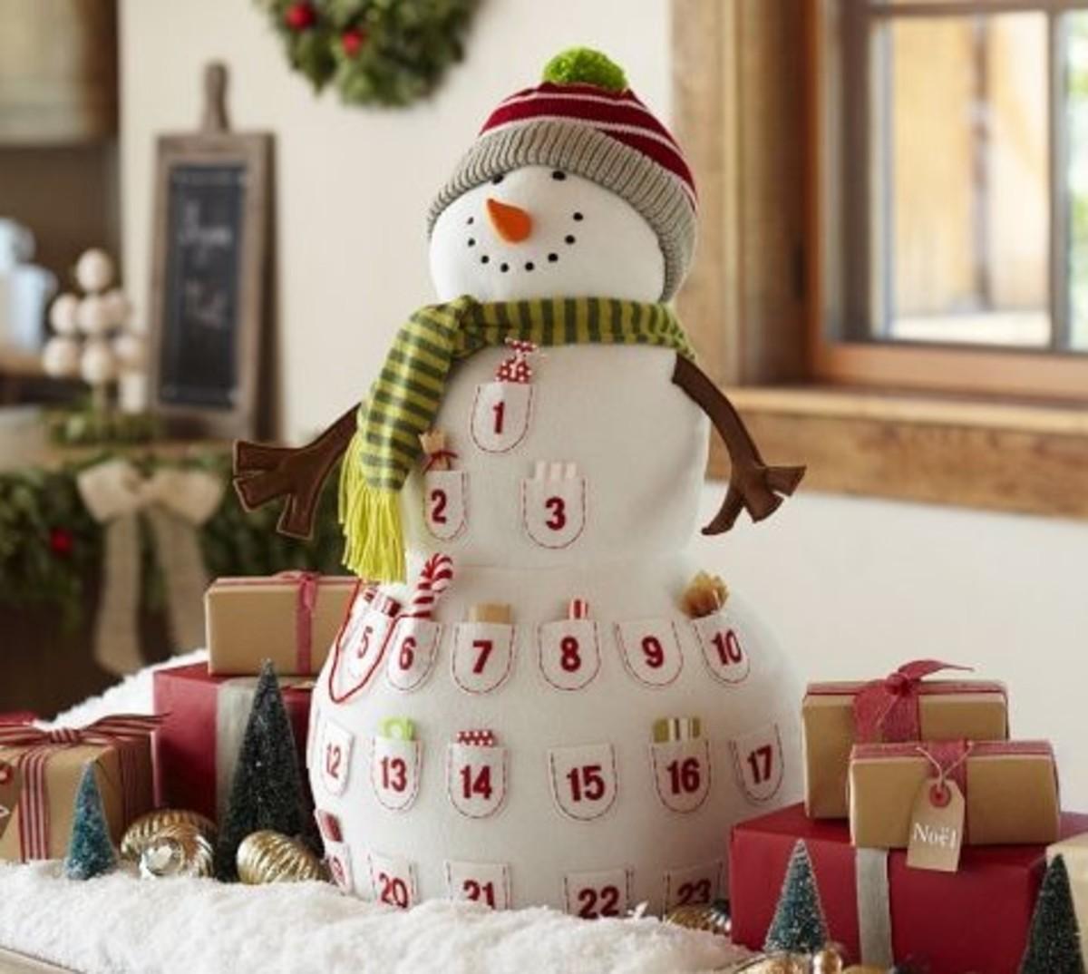 snowman calendar