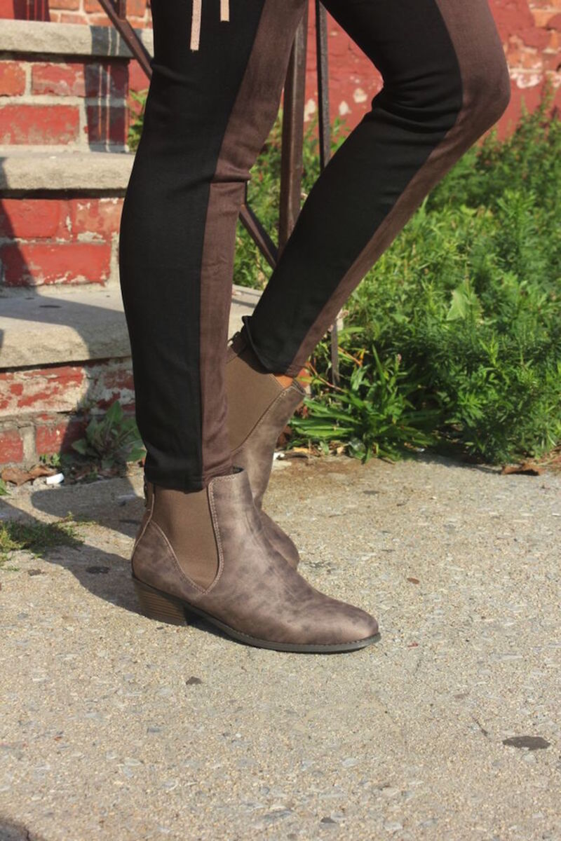 Rack Room Boot with legging