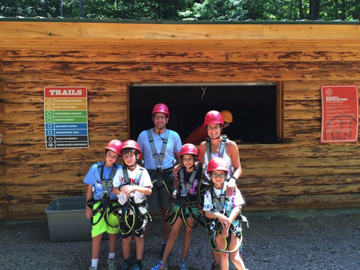 zipline family fun