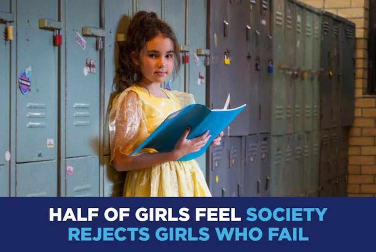 helping girls with the failure concept