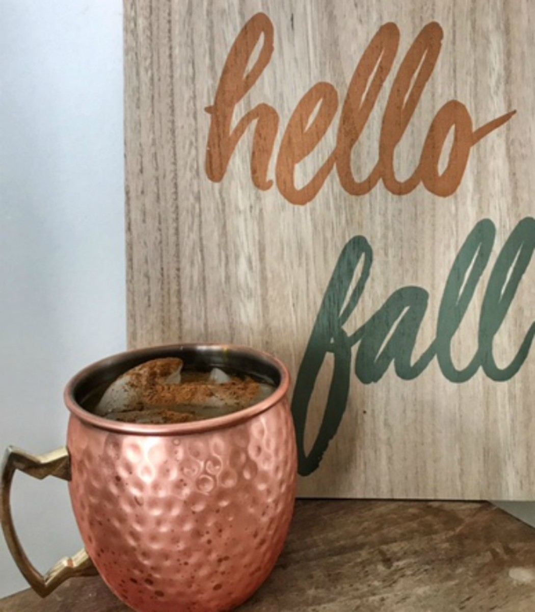 Usher In The Fall With This Caramel Apple Mule Recipe