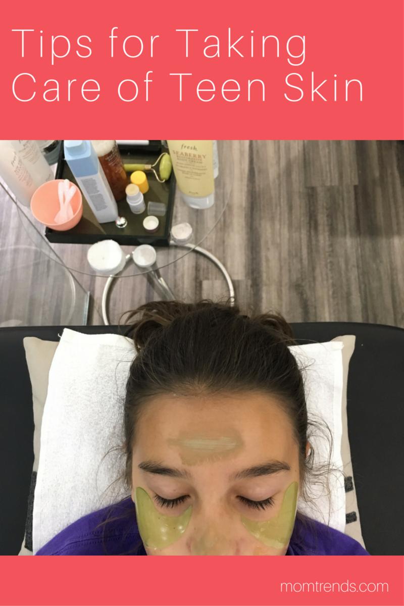 Tips for Taking Care of Teen Skin