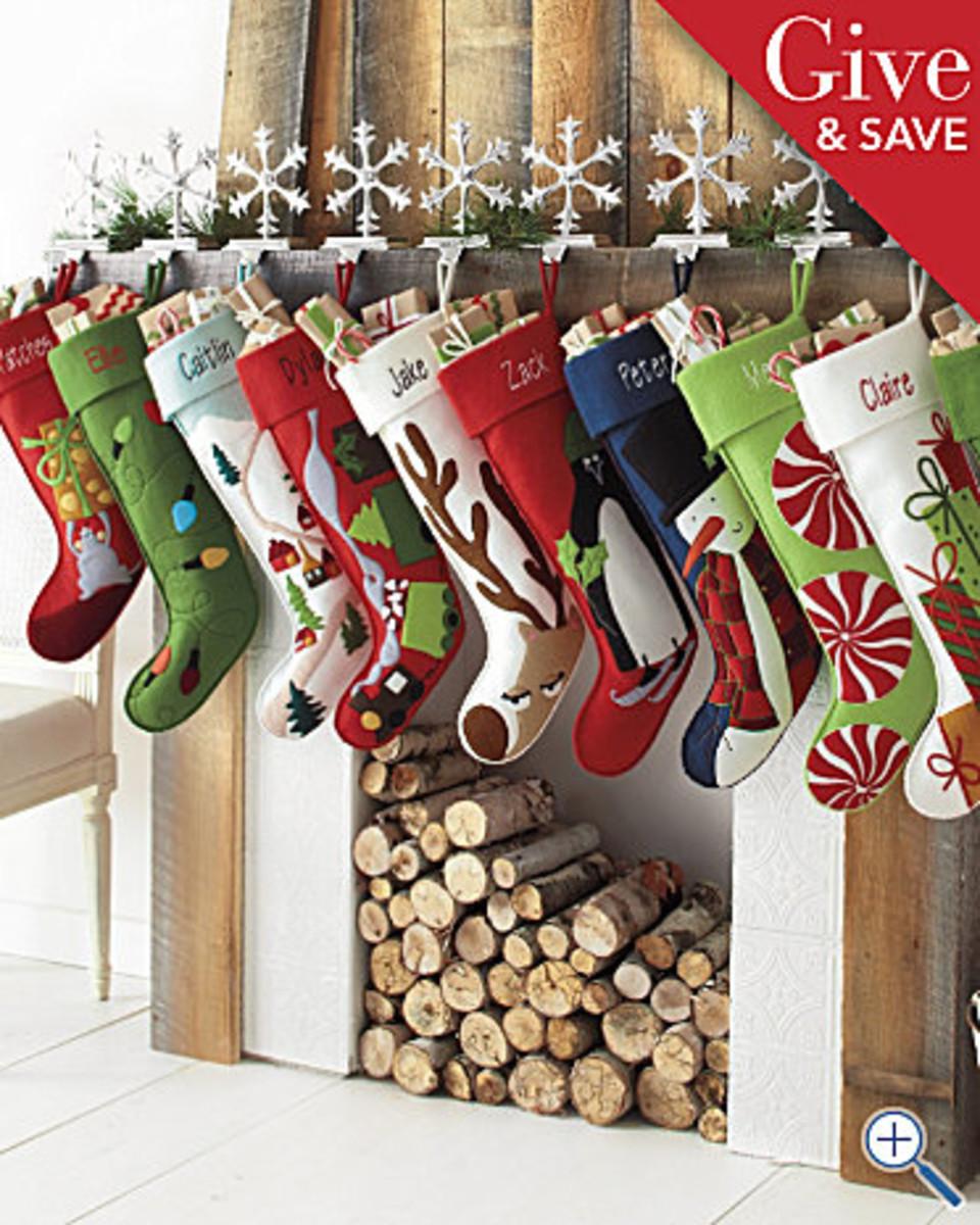 Hable Christmas Stockings
