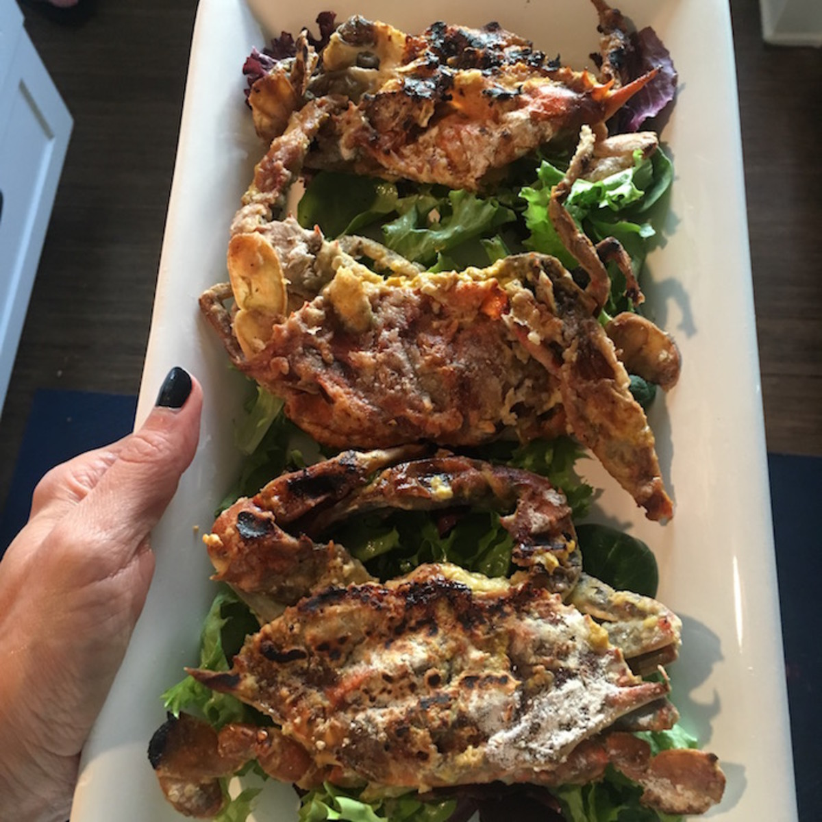 soft shell crab serving ideas