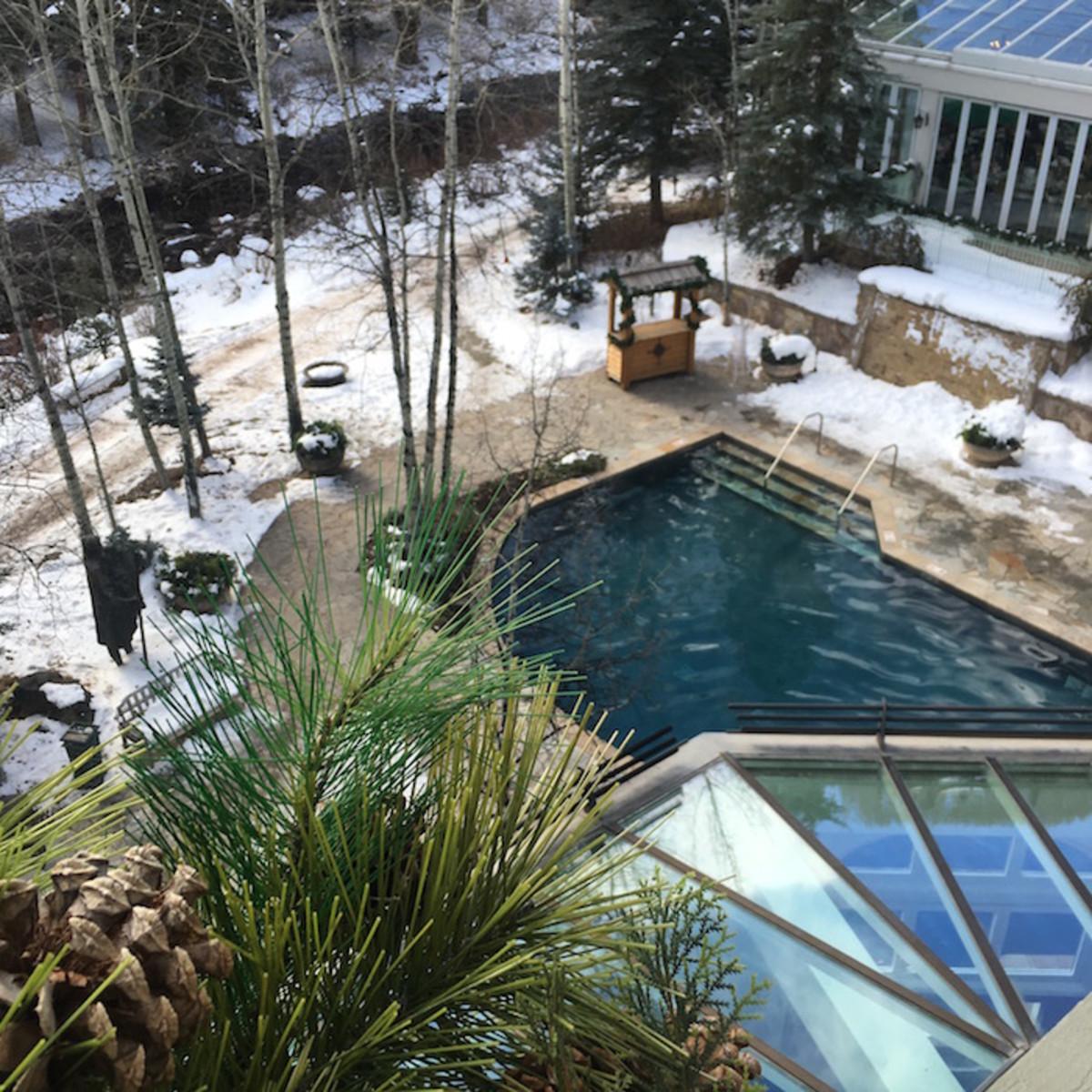 sonnenalp outdoor pool