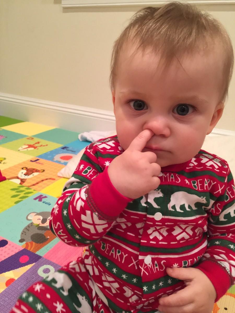 penelope picking her nose