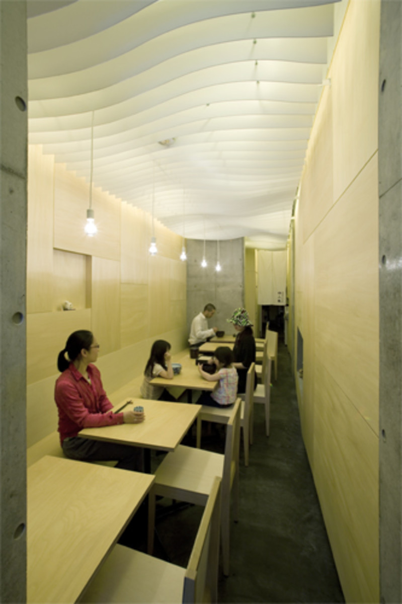 Noodle Shop Tokyo Issho Architects