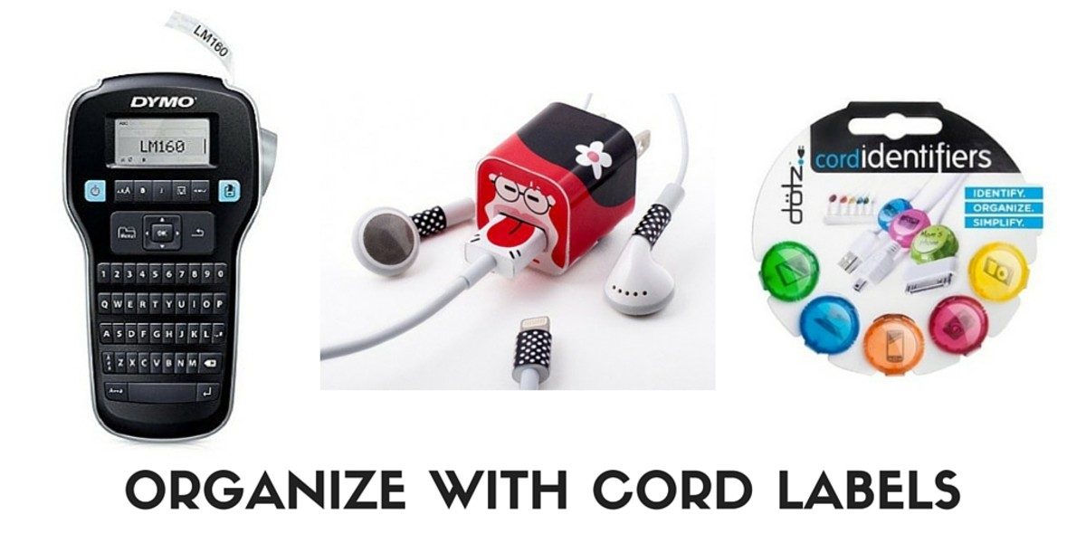 LABEL TO PREVENT LOSS CORDS