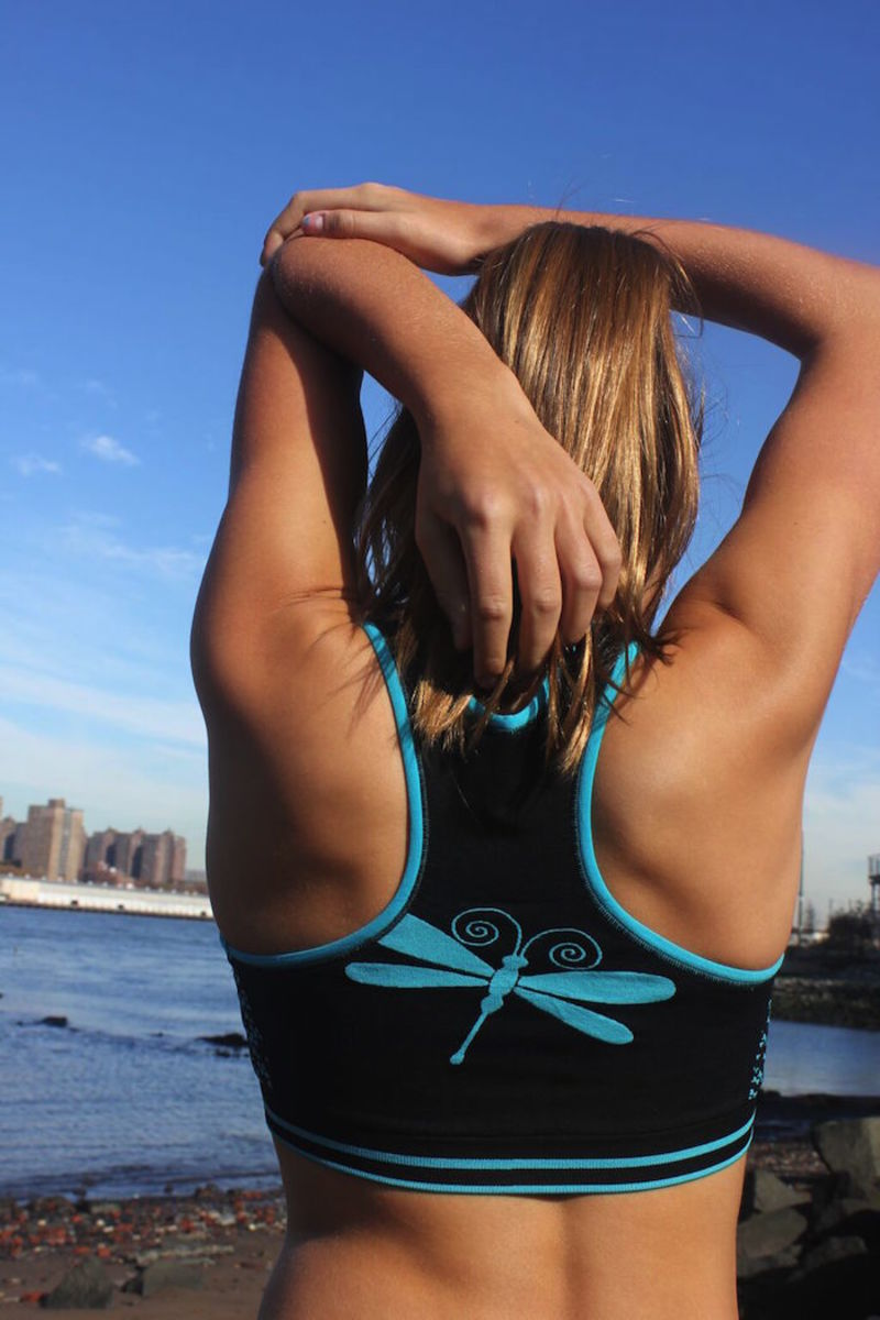 dragon wings sports bra