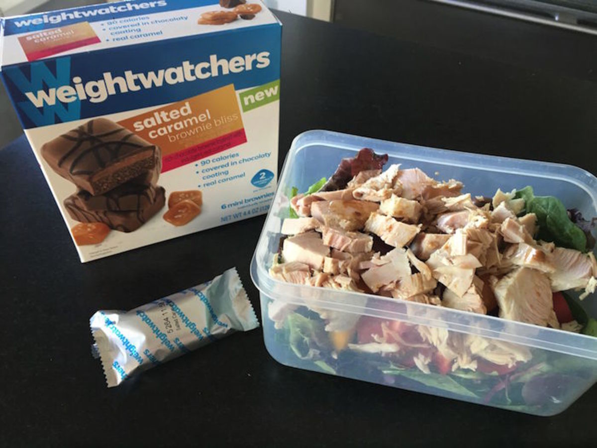 on the go snacks from weight watchers
