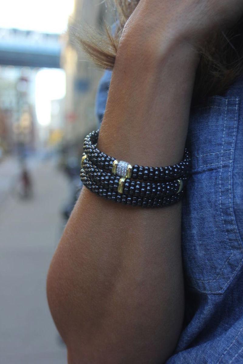 black caviar lagos bracelets