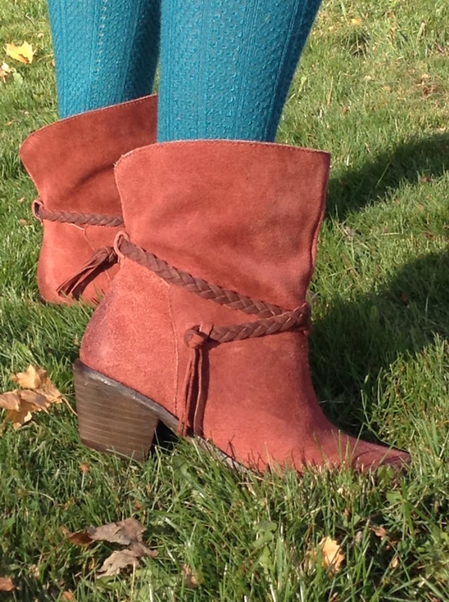 latigo dosha, ankle boots