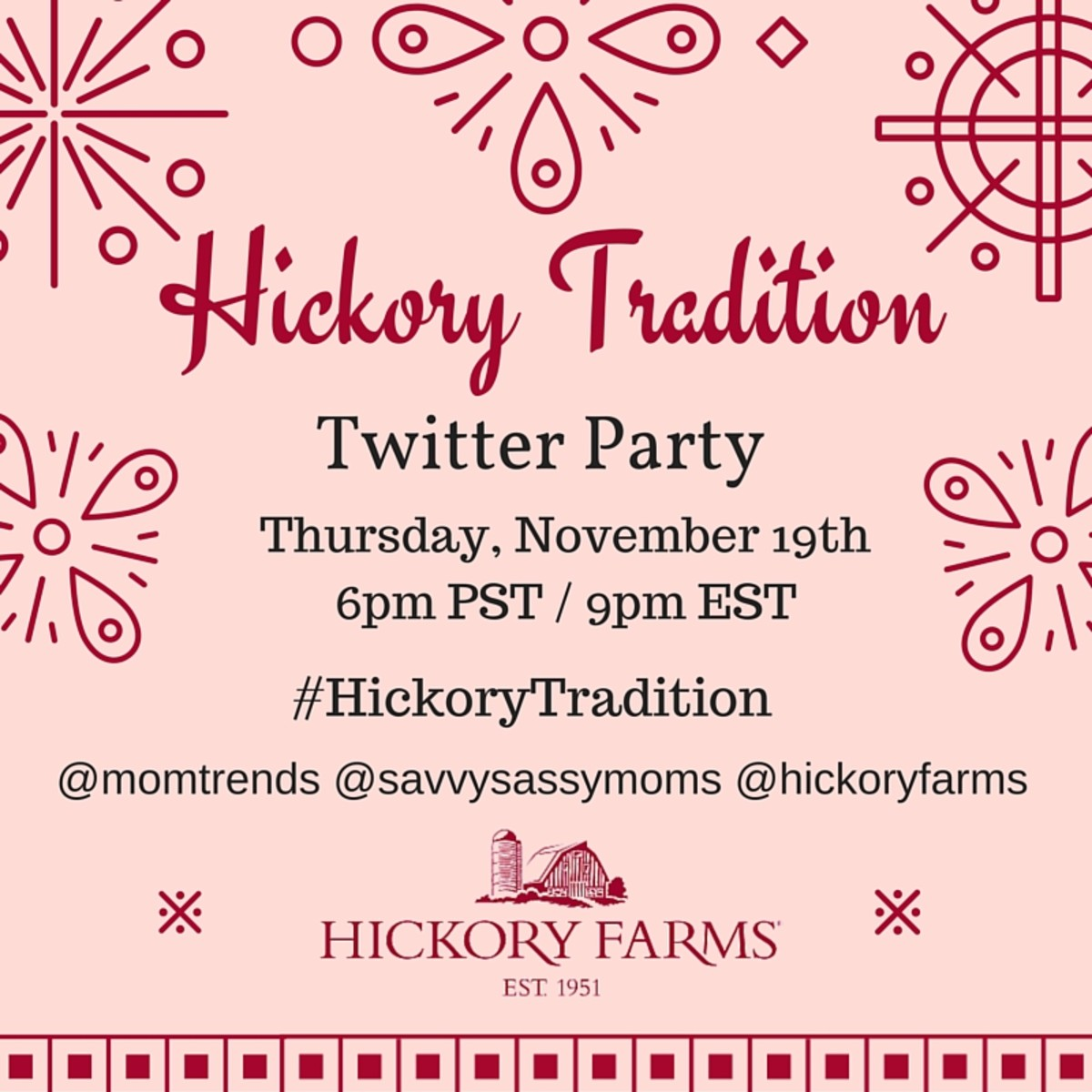 Hickory Traditions NEW Thurs 19th