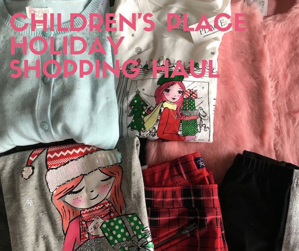 children's place shopping haul