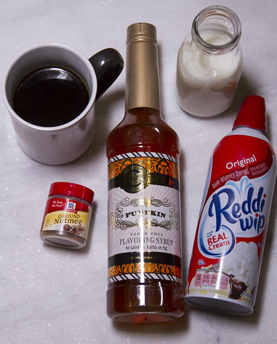 Pumpkin Coffee Ingredients