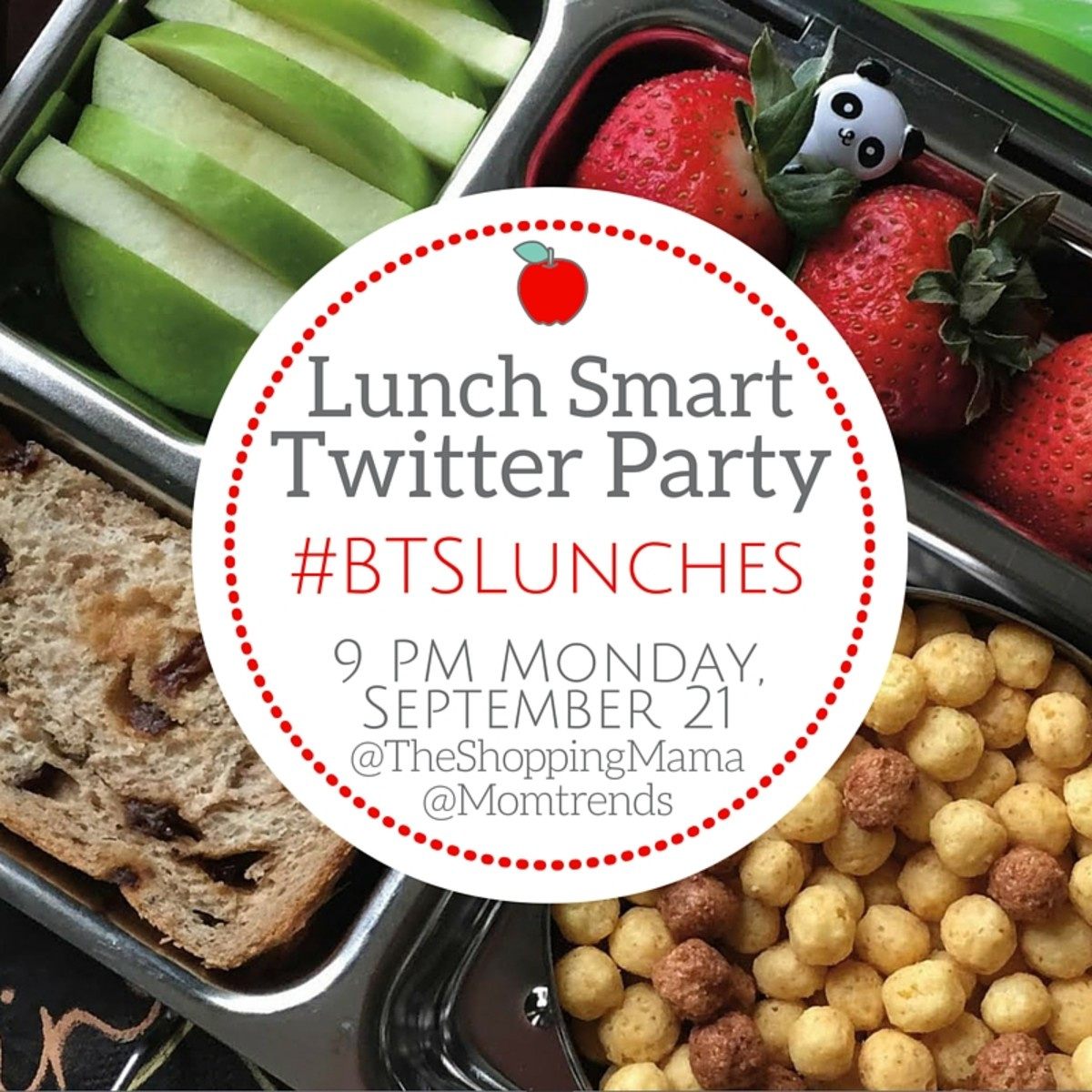 Lunch Smart Twitter Party #BTSLunches
