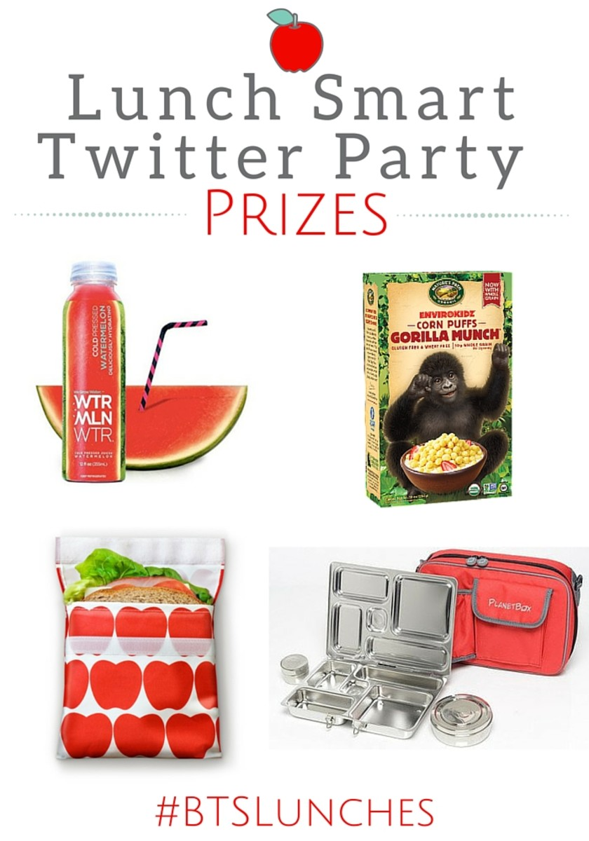 Lunch Smart Twitter Party Prizes