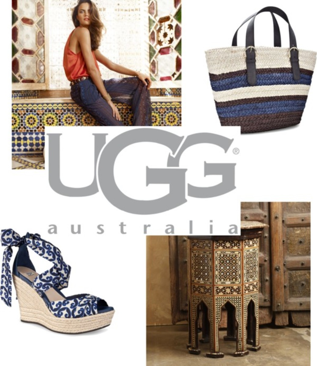 Marrakech with UGG Australia