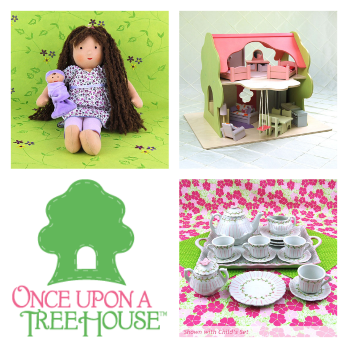 once upon a tree house