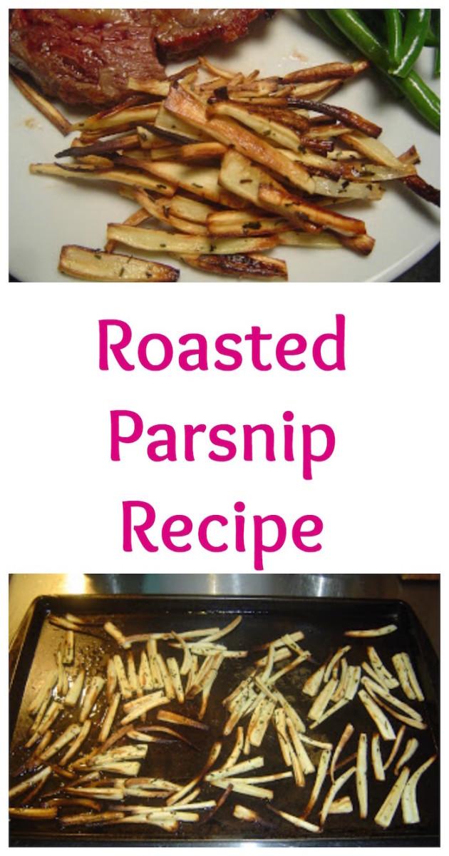 roasted parsnip recipe