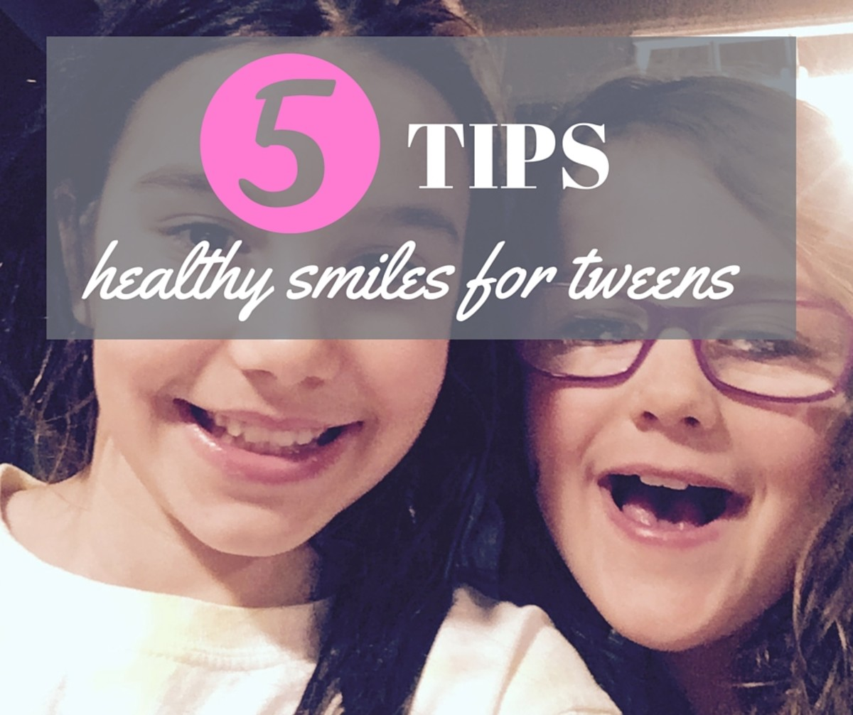 healthy smiles for tweens