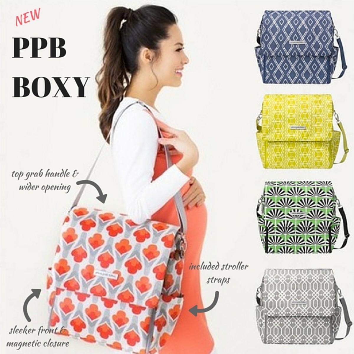 New Petunia Pickle Bottom Boxy Backpack