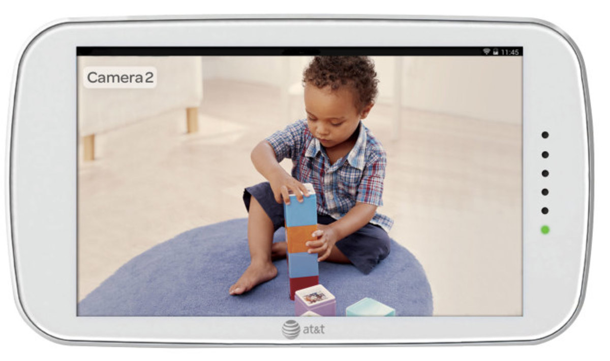 att & t, baby's journey, touch screen video monitor, internet viewable monitor