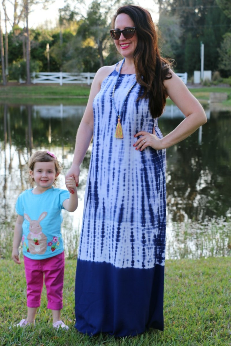 mommy and me Easter outfits