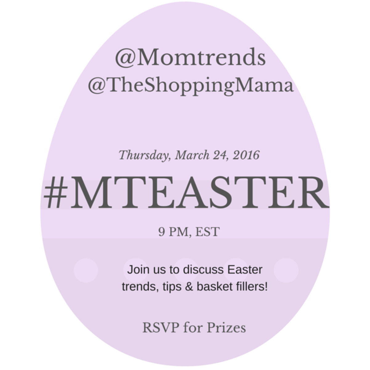 easter twitter party