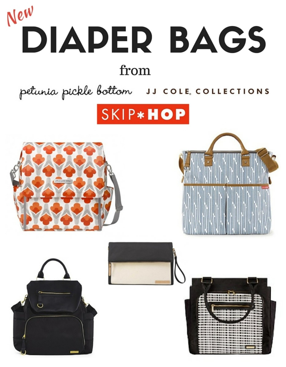 New Diaper Bags for Spring